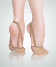 Angelo Luzio 621A Adult Size 8M Jazzy Tan Twyla II Leather Half Sole Slipper