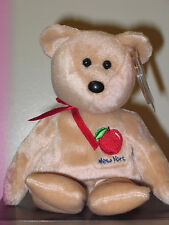 Ty Beanie Baby ~ BIG APPLE the Bear~ NY (New York) Exclusive MINT with MINT TAGS