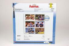 Hama Photohüllen für 120 Fotos im Format 10x15cm Packung mit 10 Blatt #2612