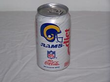 Diet Coca-Cola 1992 NFL Collector Series, One Los Angeles Rams Can