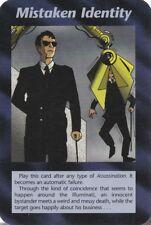 ILLUMINATI NEW WORLD ORDER CARD MISTAKEN IDENTITY