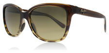 New Authentic Maui Jim Sunglasses Starfish 744 HS744-01T Translucent Tortoise