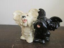 Vintage Goebel Germany Porcelain Figurine Skye Terriers Dog 30 505-05,