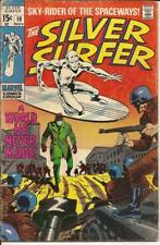 Marvel The Silver Surfer #10 A World He Never Made Sky Rider Of The Spaceways