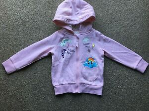Girls Exstore My Little Pony Hoodie Top Size 3 - 4 years - New without Tags!!