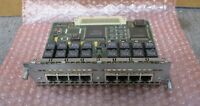 Cisco 800-01237 8 Port Ethernet RJ45 ISDN-BRI S/T Card Slot Network Module