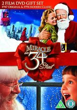 MIRACLE ON 34TH STREET (1947 AND 1994) - DVD - REGION 2 UK