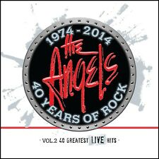 ANGELS (3 CD) 40 YEARS OF ROCK Vol.2 : THE 40 GREATEST LIVE HITS *NEW*