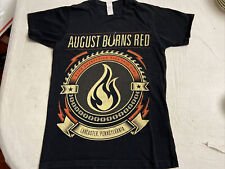 "AUGUST BURNS RED Band ""Burn Everything To Dirt"" Lancaster,PA TShirt Men Sz S"