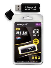 Pendrive nero Integral da 32 GB