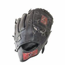 Salinas III 230 Leather Baseball Softball Glove Black Mit