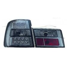 REAR LED TAIL LIGHTS SMOKE FOR BMW E34 88-95 SALOON SERIES 5 LAMP FANALE