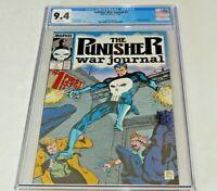 Punisher War Journal #1 CGC 9.4 NM 1988 1st Issue Origin Marvel Comics