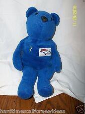 "Salvino's Bammers Denver Broncos John Elway #7 Bear Bean Bag Plush 9"""