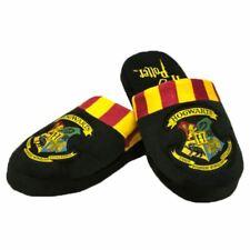 Men's Harry Potter Hogwarts Crest Adult Black Mule Slippers