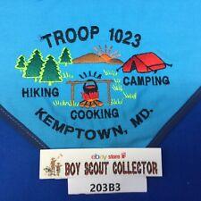 Boy Scout Troop 1023 Kemptown, MD Neckerchief