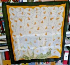 Silk Scarf Calla Lily Metropolitan Museum of Art Inspired by Diego Rivera 31x29