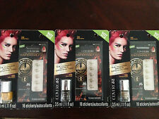 New Covergirl Hunger Games Set All 3: BLACK, BRONZE, GOLD Nail Duo Polish Art
