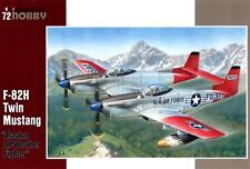 """F-82 H TWIN MUSTANG """"Alaska fighter"""" (USAF marquages) 1/72 SPECIAL Hobby rare"""