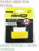 Nitro OBD2 Chip Tuning Box Petrol Cars Power Engine ECU Remap Performance dk