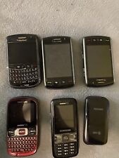 Lot Of Phone Blackberry, Samsun For Parts