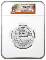 2018 Apostle Islands 5 oz. Silver ATB Beautiful NGC MS69 DPL FR SKU49849
