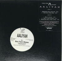 Aaliyah More Than A Woman Vinyl Record Original 2002 Rare Promo 12""