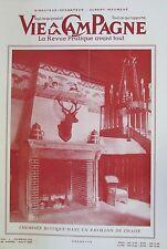 LA VIE à la CAMPAGNE de 1961 CHASSE PIEGEAGE FAISAN CHIEN GARDE-CHASSE COLOMBIER
