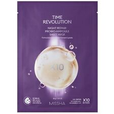 [MISSHA] Time Revolution Night Repair Probio Ampoule Sheet Mask/Korean Cosmetics