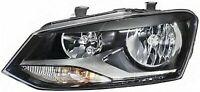VW Polo 2009-2014  Twin Headlight Headlamp LH LEFT N/S NEAR Side Passenger Side