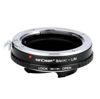 K&F Concept Adapter mount for Sony Alpha Minolta Lens to Leica M L/M camera