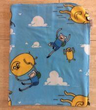 Adventure Time Cartoon Network Fleece Blanket Throw Bedding Jake Finn