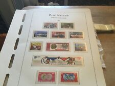East Germany Used Stamps Sets Circ1970