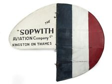 WWI Royal Flying Corps Sopwith Swallow Scooter Plane Tail