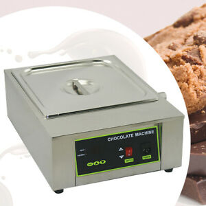 Commercial 1KW Electric Chocolate Tempering Machine Melter Maker Melting Pot 8kg