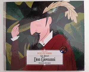 Don Giovanni di W.A. Mozart collana Musica per Bambini Hachette LIBRO + CD