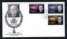 The Gambia - 1966 Churchill Illustrated First Day Cover