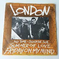 "London - Summer of Love - Vinyl 7"" Single UK 1st Press VG+/EX Punk"