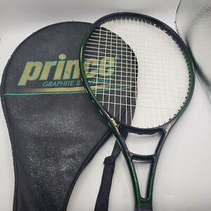 Prince Tennis Racquet Graphite II Oversize no. 5 with case. Needs new grip.