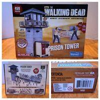 AMC's Walking Dead Prison Tower Walmart Exclusive 459 Pcs Building Set McFarlane