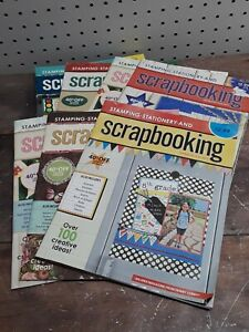 Lot of 7 Stamping Stationery and Scrapbooking Issues