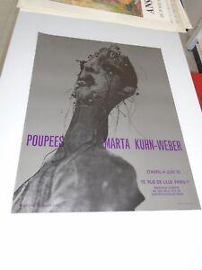 POUPEES MARTA KUHN-WEBER 1970- PARIS 51x65cm