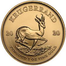 Goldmünze Krügerrand 2020 1 oz Das Original Südafrika in Stempelglanz