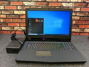 """Dell ALIENWARE 17 R5 17.3"""" QHD I9-8950HK 512GB SSD 16GB W10P Nvidia GTX 1080"""