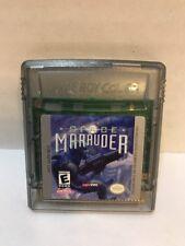 "Space Marauder Nintendo Game Boy Color ""Rare"" NTSC GBC (used) Free Ship"