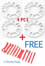 4Pcs 8mm Car Wheel Spacer Adaptor 5x100 5x114 + 11PCS Pry Tool Fit SUBARU