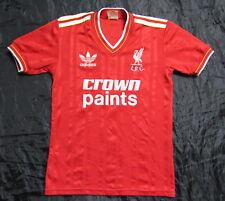 "1985-1987 RETRO The Reds FC LIVERPOOL home shirt jersey ADIDAS BOY YL 76-81"""