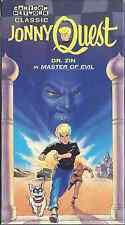 JONNY QUEST VHS DR ZIN MASTER OF EVIL DOUBLE RIDDLE OF THE GOLD & ROBOT SPY NEW
