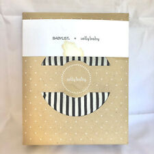 Solly Baby Babylist Wrap Black and White Stripes Wearable Infant Baby Carrier