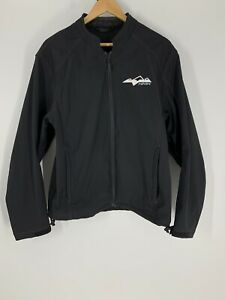 HMK Tech Jacket Mens M Black soft shell snowmobile
